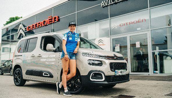 Anamarijo Lampič je očaral Citroën Berlingo