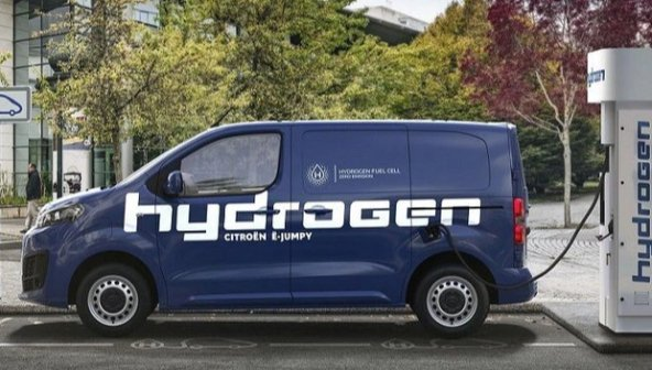 Citroënovo prvo vozilo na vodik ë-Jumpy Hydrogen